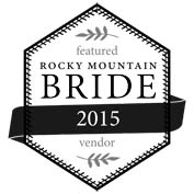 Featured in Rocky Mountain Bride