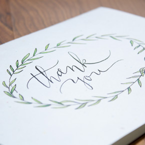 thank you cards | Taryn Eklund Ink