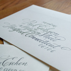 envelope addressing | Taryn Eklund Ink