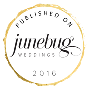 Featured in Junebug Weddings